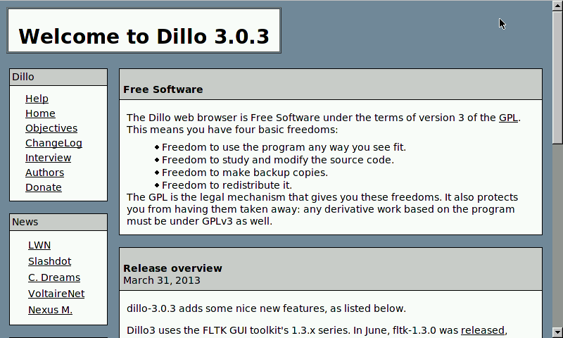 Dillo Alternatives and Similar Software - AlternativeTo.net