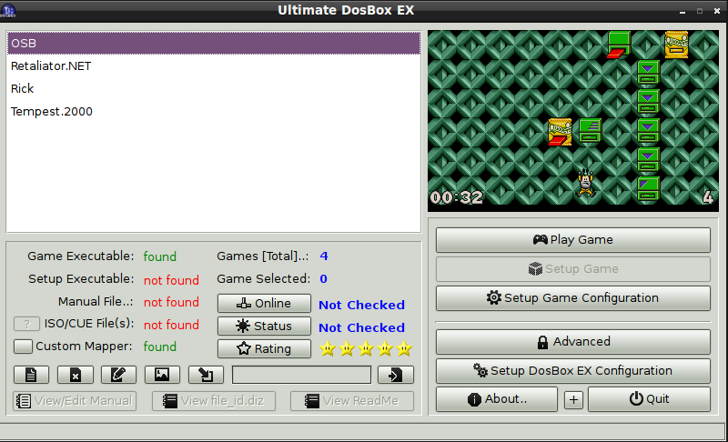 DosBox EX + Games Downloader - Package Details - repo