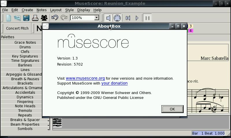 MuseScore - Package Details - repo openpandora org