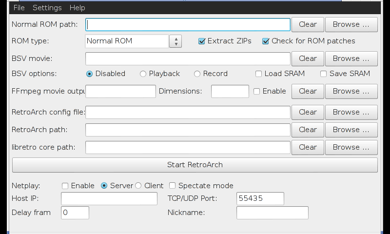 RetroArch - Package Details - repo openpandora org