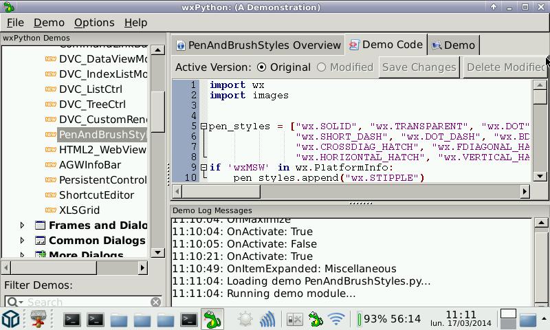 wxPython - Package Details - repo openpandora org Repository